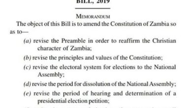 Photo of Bill 10 published in Govt Gazette to stop misinformation