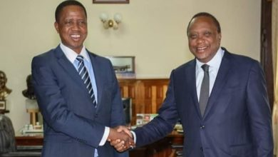 Photo of Lungu congratulates Kenyatta over UN seat