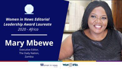 Photo of Daily Nation editor scoops international award