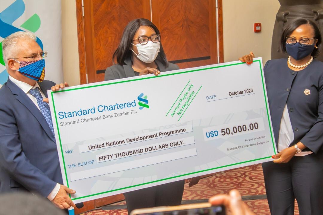 Photo of Standard Chartered contributes $50, 000 for masks