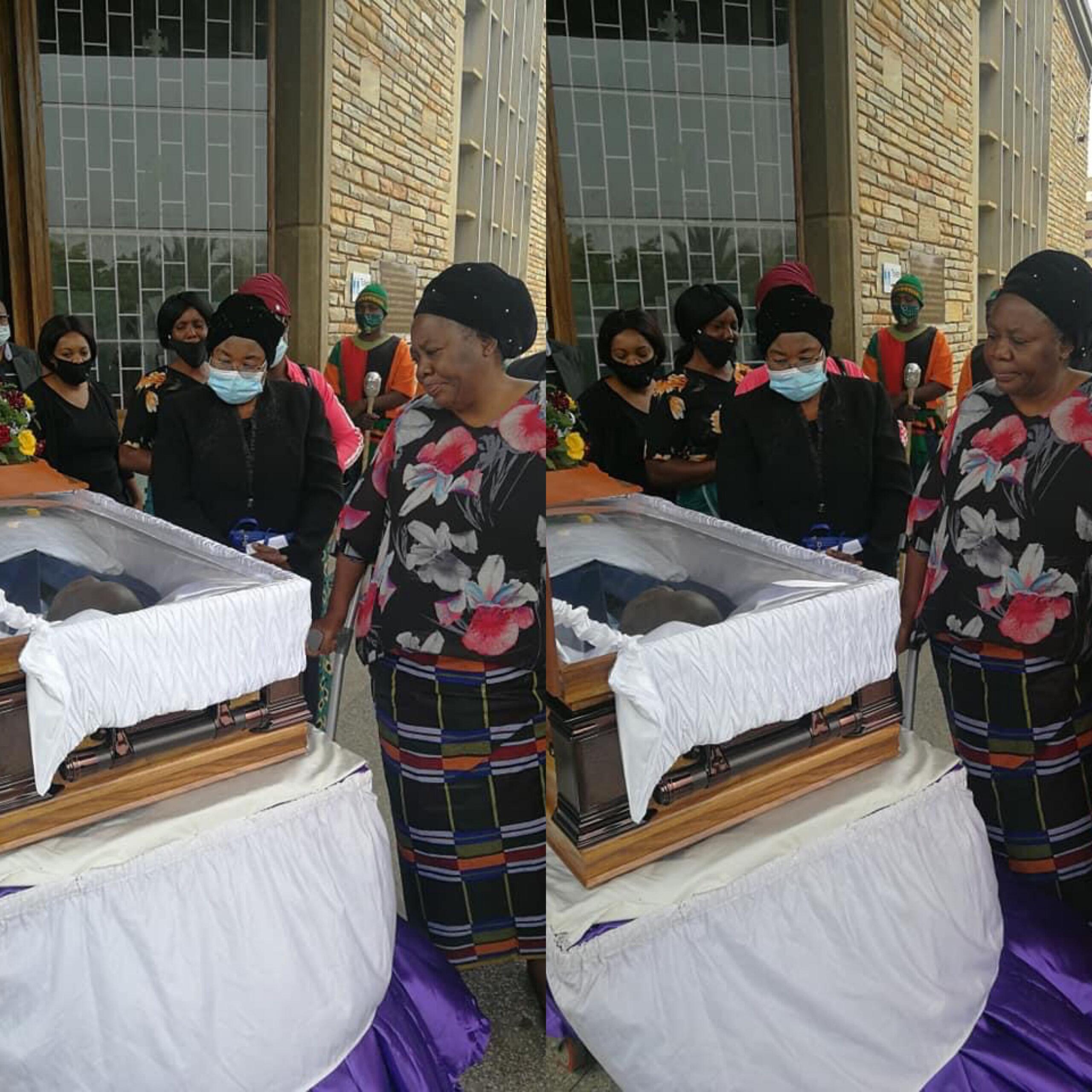 Photo of FAZ VP Mweemba given emotional send off