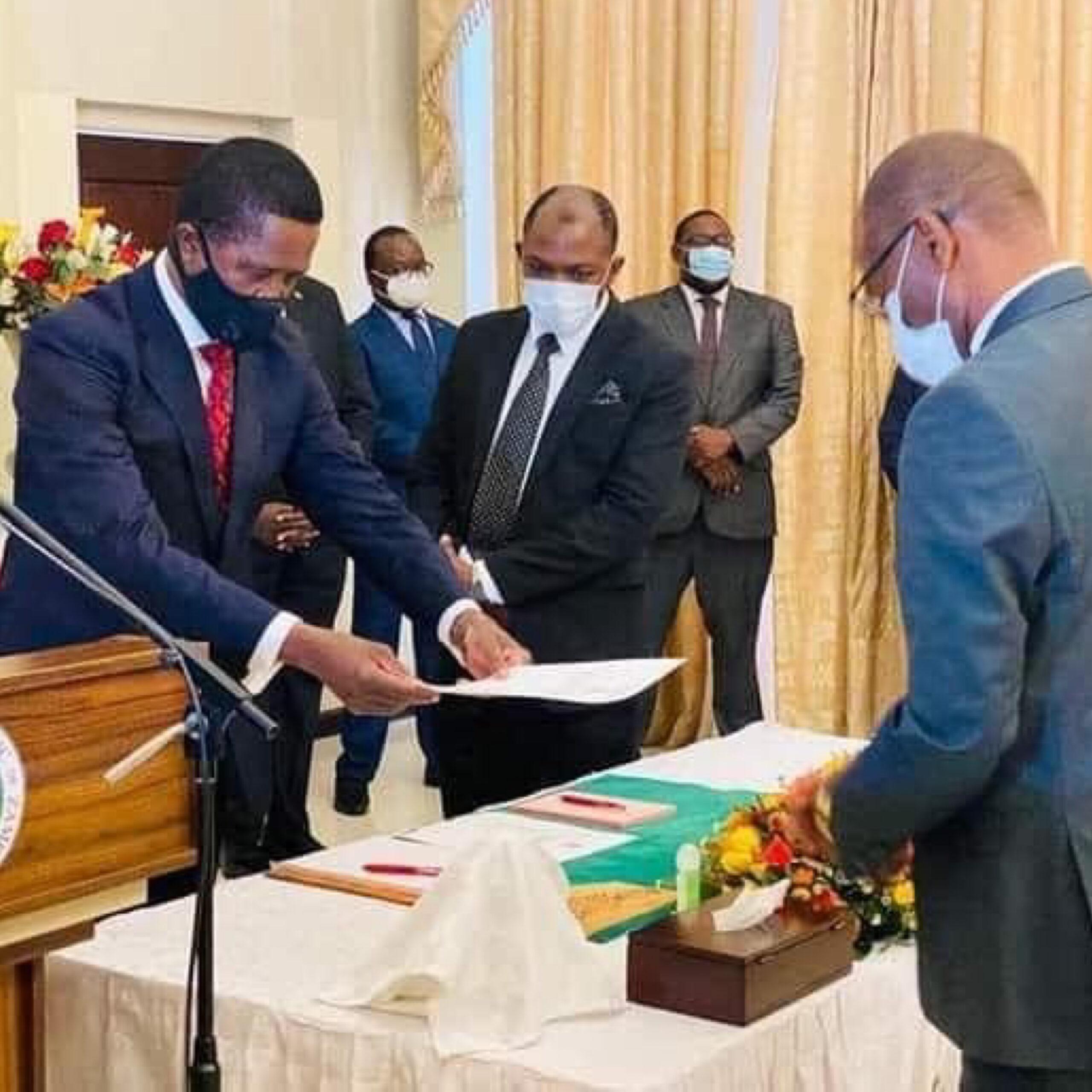 Photo of 'Shore up' BoZ, Lungu tasks new Governor