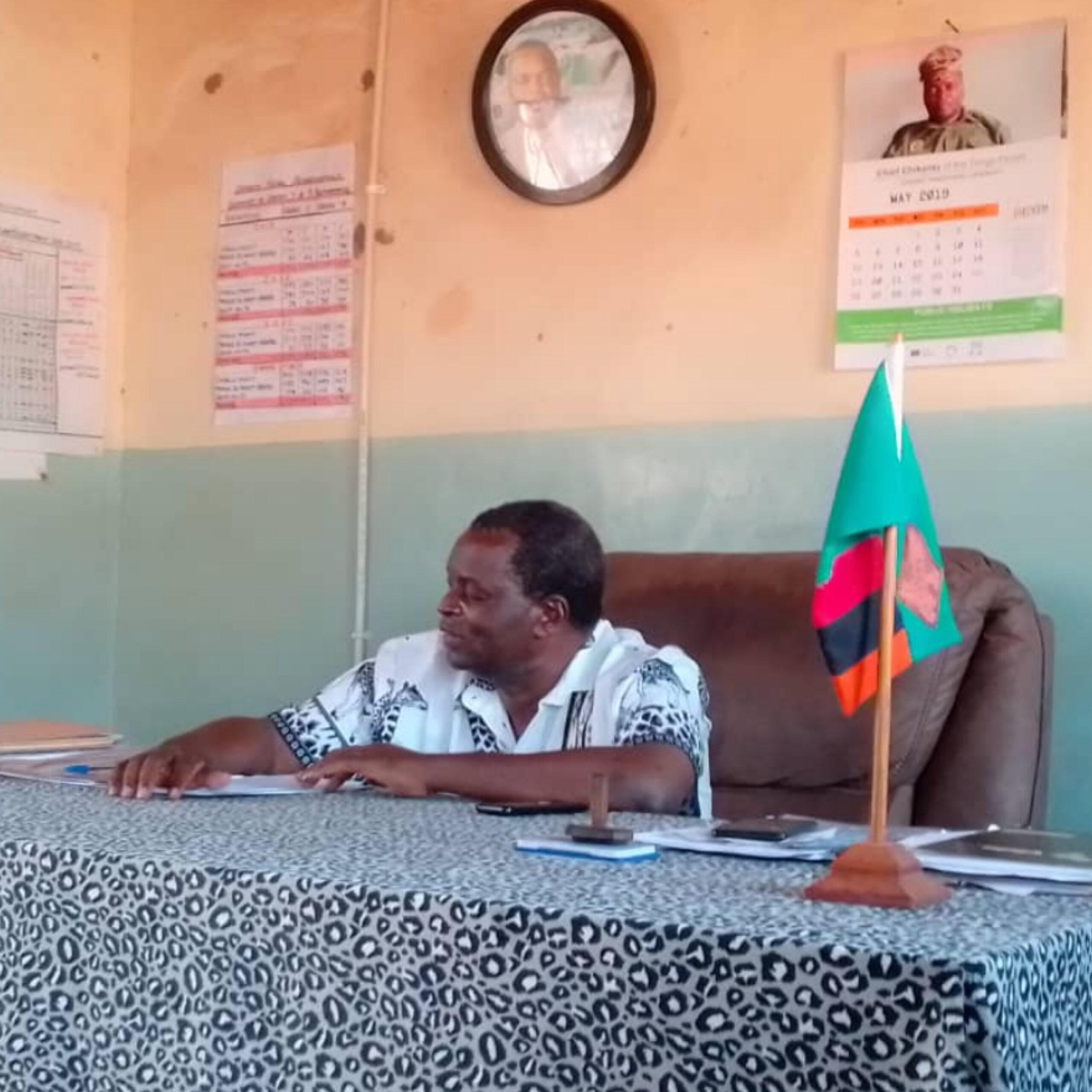 Photo of DUNDUMWEZI HEADMEN PLEDGE GREEN VOTE