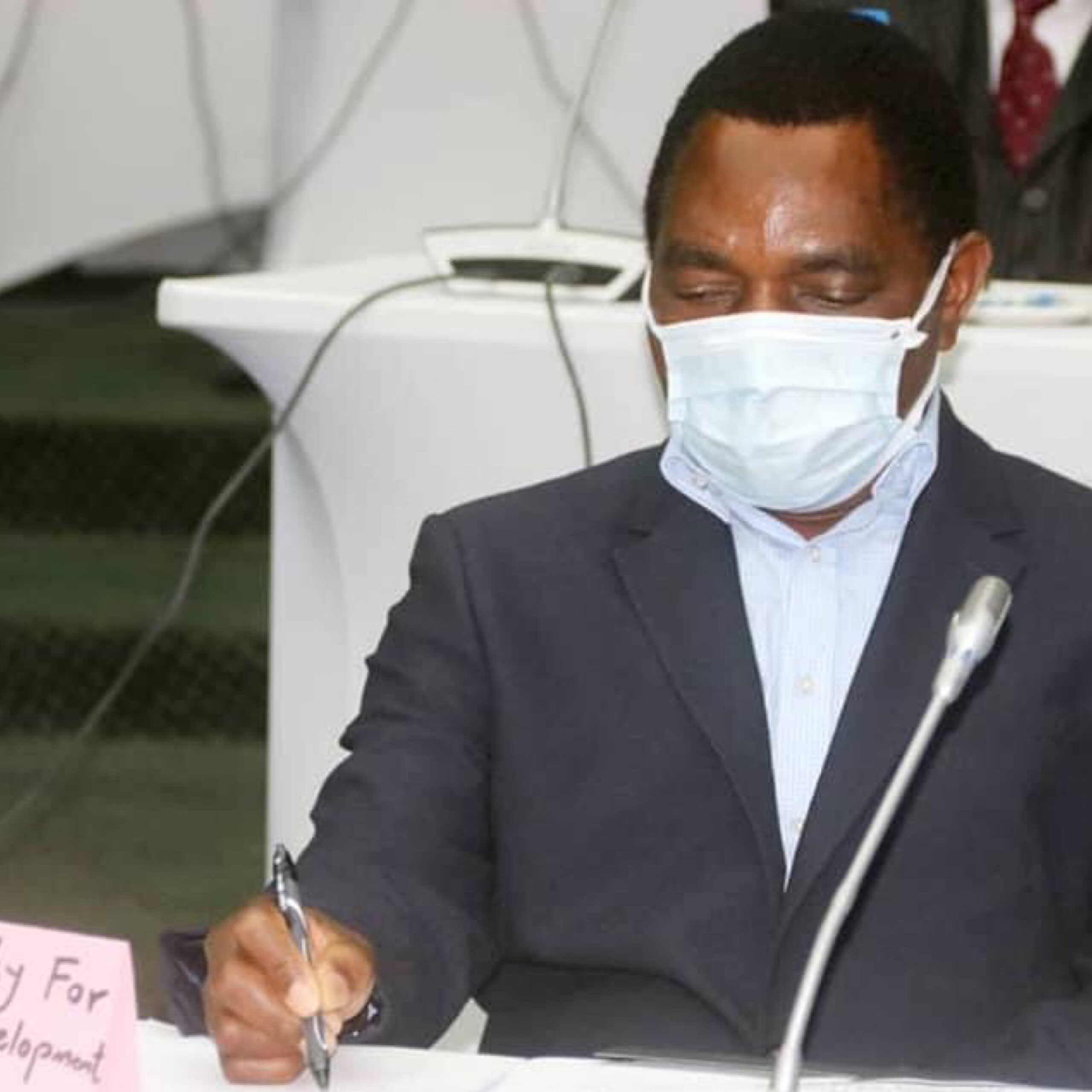 Photo of Hichilema ignores President Lungu