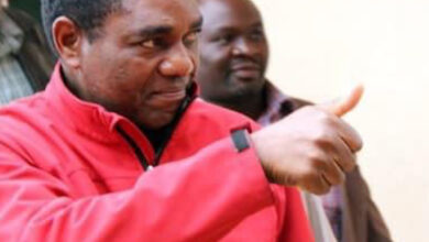 Photo of HH doesn't respect UPND constitution, can't respect republican one